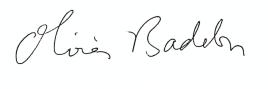 Signature Olivier Badelon